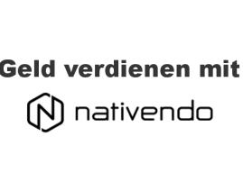 """Geld verdienen mit """"nativendo"""""""