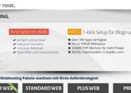 simplyroot.de Webhosting – Im Test (Advertorial)