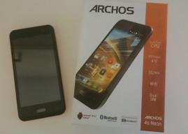 ARCHOS 45 Neon – Smartphone mit Selfie-Button