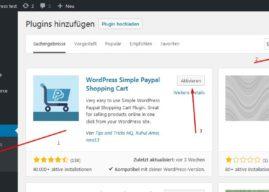 Wie erstellt man kostenlos einen einfachen WordPress Onlineshop