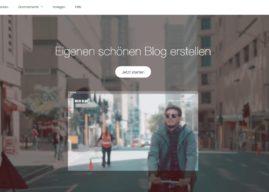 So kannst Du dir mit Wix.com deinen eigenen Blog erstellen