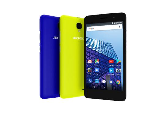 ARCHOS bringt zwei neue Smartphone-Serien auf der IFA 2017