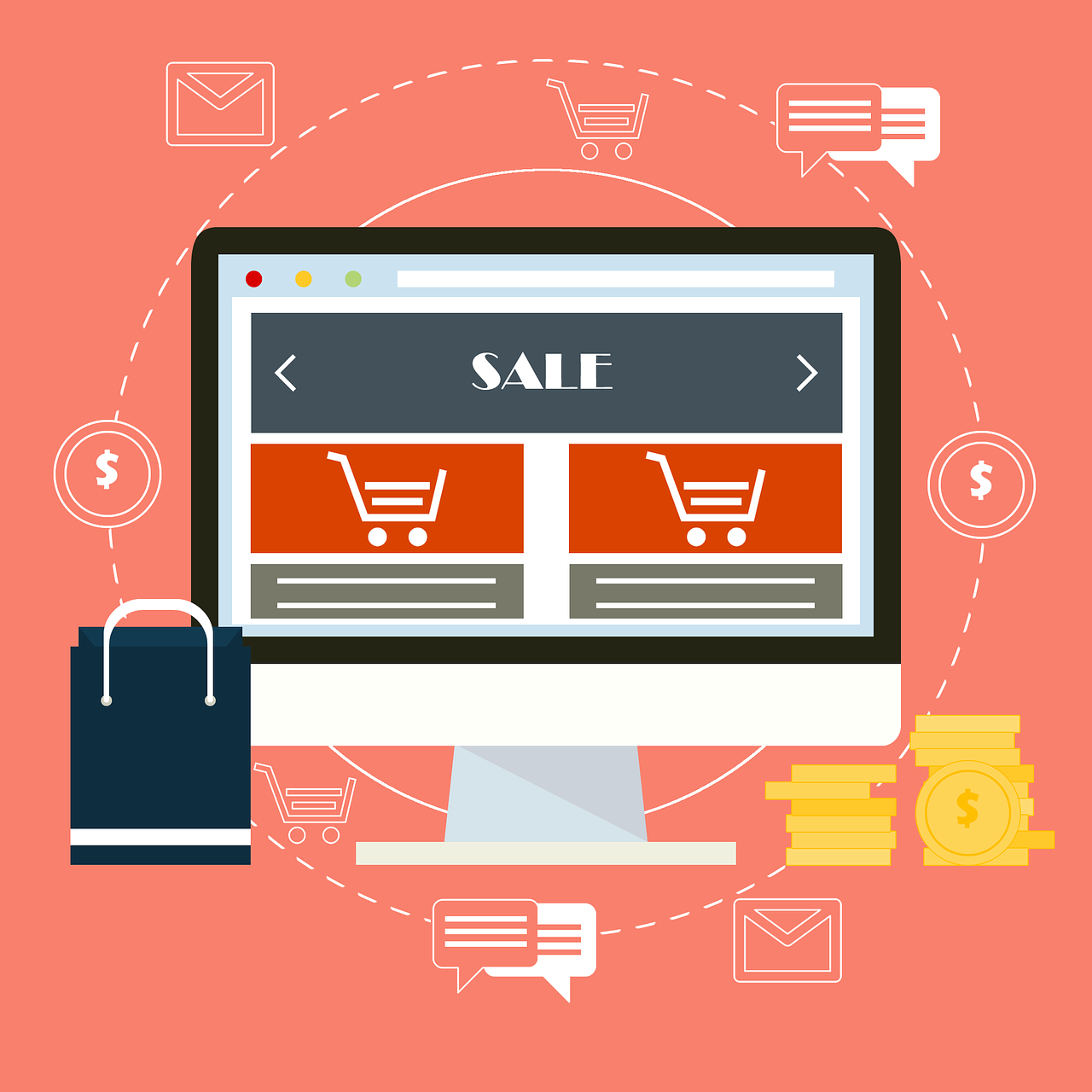 Geld verdienen im Netz: Der eigene Online Shop