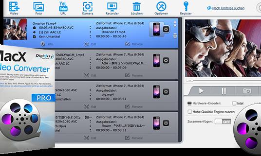 MacX Video Converter Pro: exklusive Giveaway-Lizenzen für meine Leser!