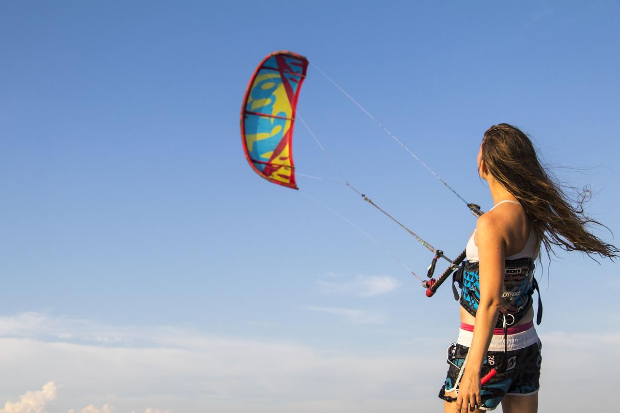 Kitesurfing mit dem Wind Foil: der neue Kick