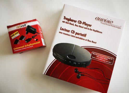 auvisio Portabler CD Player von Pearl im Test