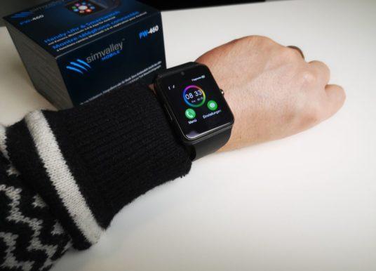 Testbericht – Smartwatch von simvalley Mobile