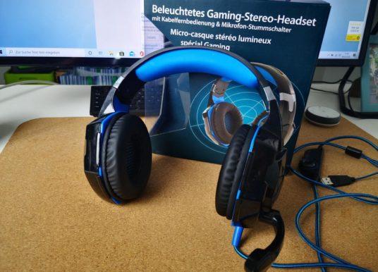 Mod-it Gaming Kopfhörer von Pearl.de im Test
