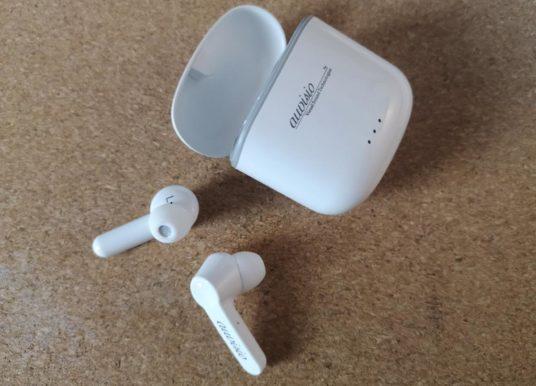 Das True Wireless In- Ear- Headset von Auvisio im Test